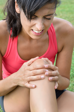 Hurt Knee from not observing Yoga cautions